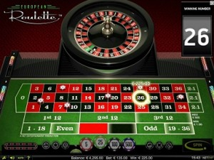 Roulette system 73035