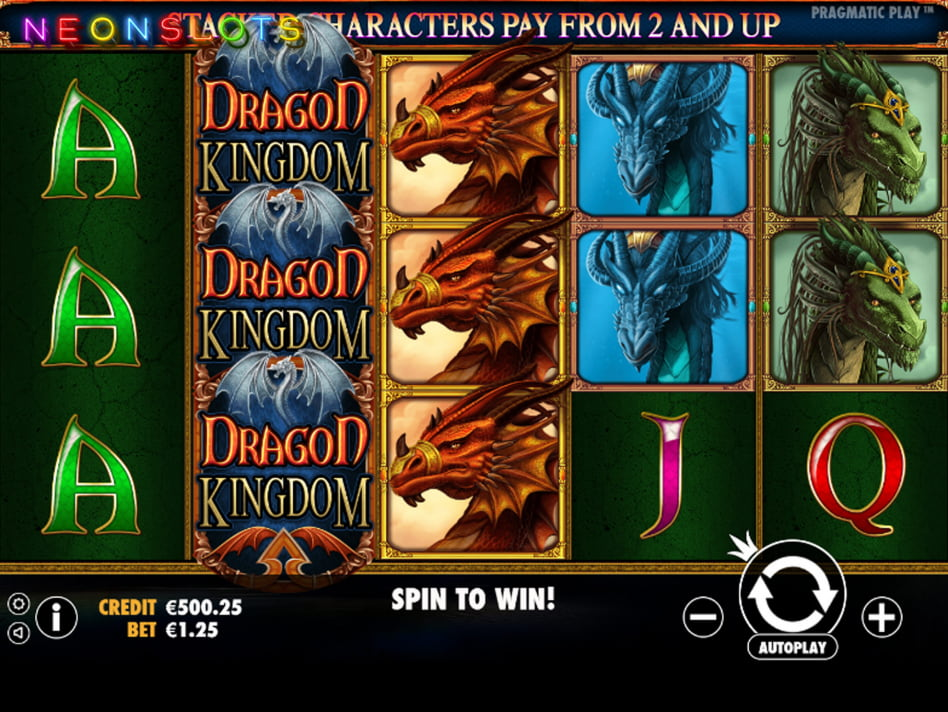 Dragon Kingdom Slot 81605