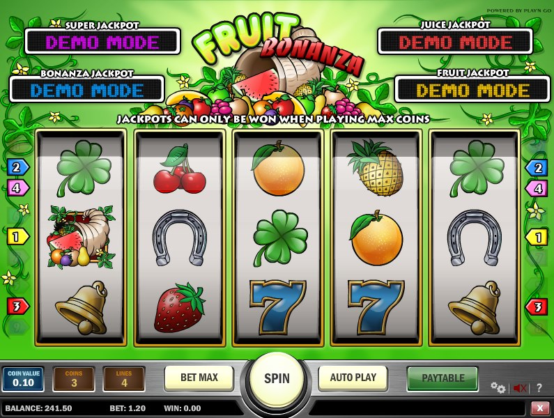 Video Fruit Bonanza 31324