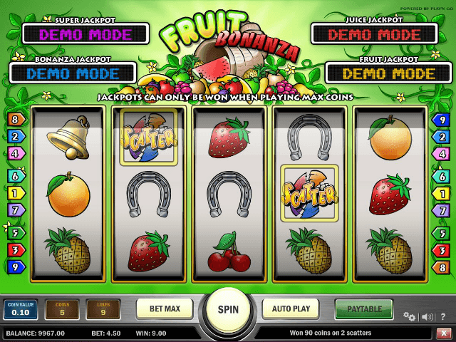 Fruit Bonanza 9675