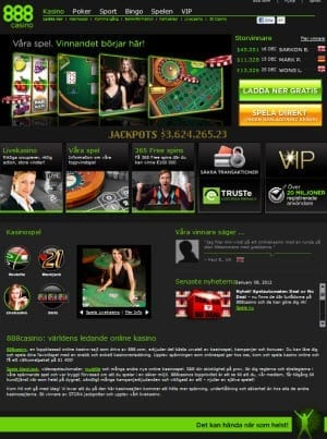 Swedish casino with 64883