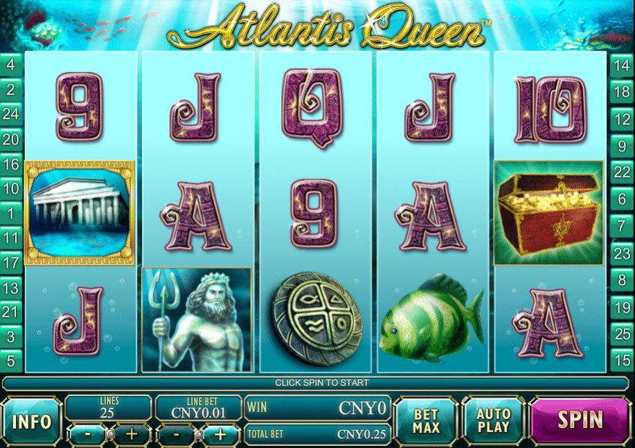 Atlantis Queen Slot 22524