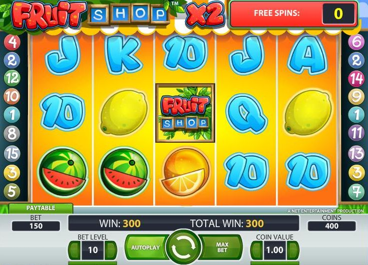 Fruit spins spelautomater 91820
