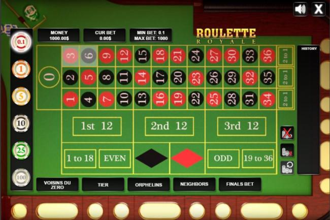 Free roulette 80552